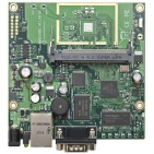 RouterBoard RB411AH, 1x LAN, 1x MiniPCI, 64MB SD-RAM i 64MB FLASH