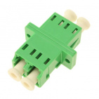 Adapter LC/APC, SM, DUPLEX (SC MOUNT)