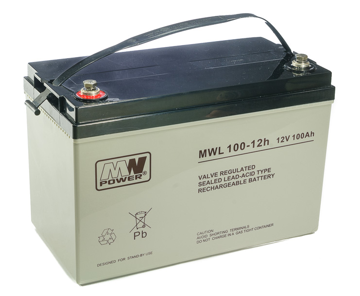Akumulator MWL 100-12 Long Life
