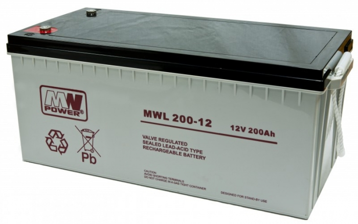 Akumulator MWL 200-12 Long Life