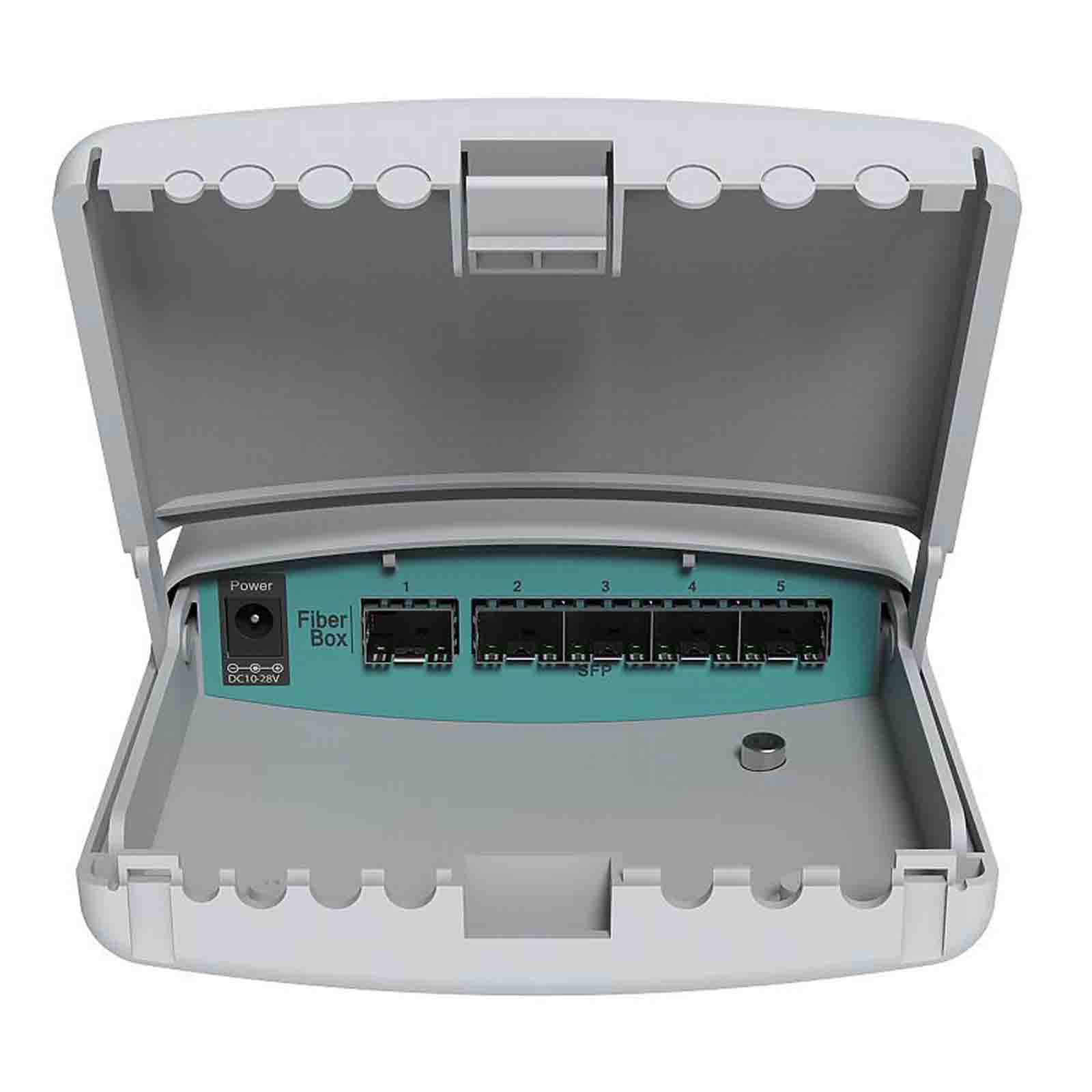 MikroTik Cloud Router Switch CRS105-5S-FB (FiberBox)