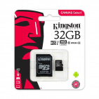 Kingston microSDHC Canvas Select 32GB UHS-I (SDCS/32GB)