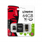 Kingston microSDHC 64GB Class 10 (MBLY10G2/64GB)