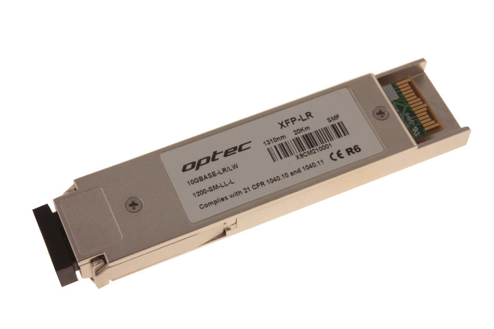 Optec XFP 10Gbps, LC SM, 20km, TX1310, DDM