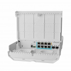 MikroTik Cloud Smart Switch CSS610-1Gi-7R-2S+OUT (netPower Lite 7R)