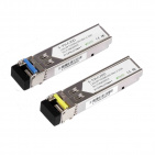 Option S-3553LC20D, 1.25Gbps, SM LC, 20km, TX1310/1550, DDM, para, Industrial