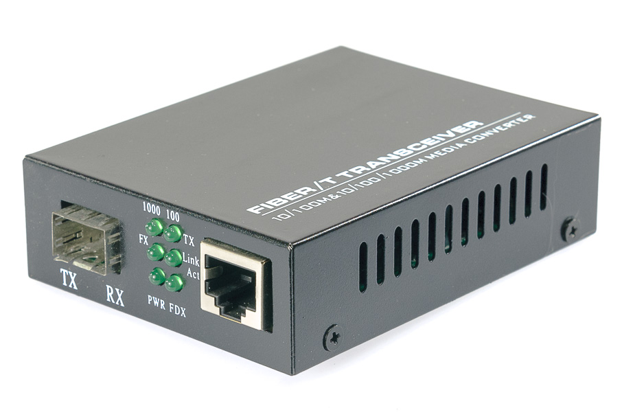 Option Gigabit Media Konwerter MC220S SFP-RJ45 :: wisp.pl