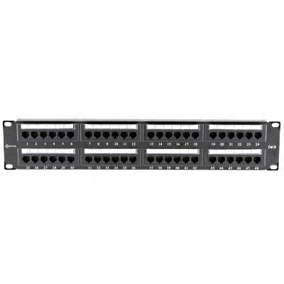 "Patch panel UTP 19"" kat.5e, 48 portów :: wisp.pl"