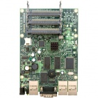 RouterBoard RB433AH, 3x LAN, 3x MiniPCI, 128MB SD-RAM i 64MB FLASH