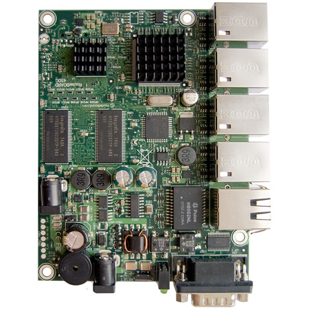 MikroTik RouterBoard RB450G, 5x LAN, 256MB SD-RAM i 512MB FLASH :: wisp.pl