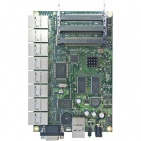RouterBoard RB493AH, 9x LAN, 3x MiniPCI, 128MB SD-RAM i 64MB FLASH