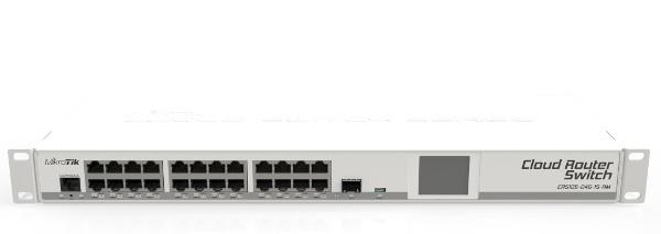 Cloud Router Switch Crs125 24g 1s Rm Wisp Pl