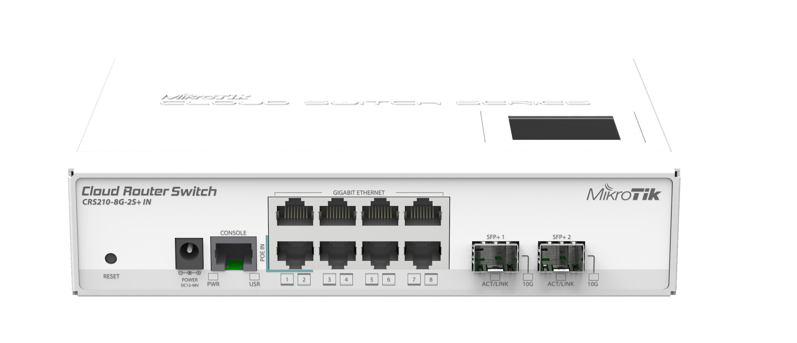 Cloud Router Switch CRS210-8G-2S+IN :: wisp.pl