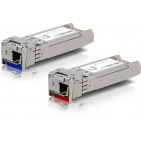 Ubiquiti (UF-SM-10G-S) U Fiber, Single-Mode Module, 10G, BiDi, 2-Pack