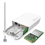 MikroTik LoRa: R11e-LoRa8, wAP LoRa8 kit (RBwAPR-2nD&R11e-LoRa8), LoRa antenna kit (TOF-0809-7V-S1)