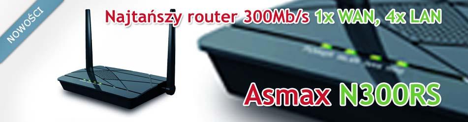 Asmax N300RS :: Wisp.pl