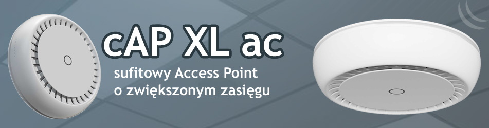 MikroTik cAP XL ac (RBcAPGi-5acD2nD-XL) :: Wisp.pl