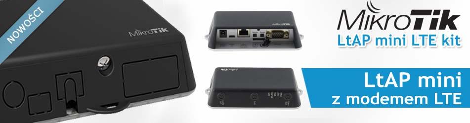 MikroTik LtAP mini LTE kit :: Wisp.pl