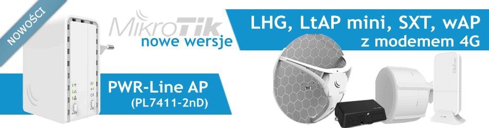 MikroTik PWR-Line AP & LGH 4G kit & LtAP mini 4G kit &SXT 4G kit & wAP 4G kit :: Wisp.pl