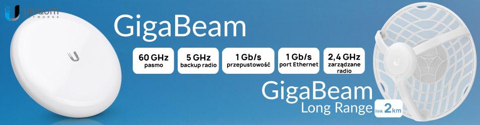Ubiquiti GigaBeam (GBE), GigaBeam Long Range (GBE-LR):: Wisp.pl