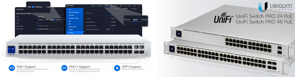 Ubiquiti UniFi Pro Switch 24 POE Gen2 & UniFi Pro Switch 48 POE Gen2 :: Wisp.pl