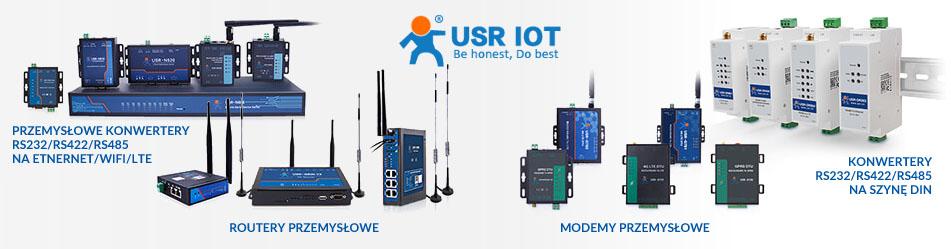 USR IoT - routery przemysłowe, modemy przemysłowe, przemysłowe media konwertery :: Wisp.pl